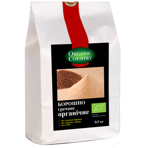 Мука гречневая органическая, Organic Country, 500 г