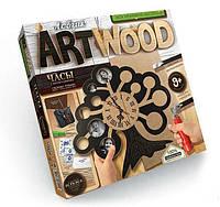 """Набор для творчества  и выпиливания Лобзик """"Art Wood"""" + часы /5"""
