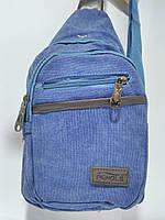 Бананка  барсетка  босетка сумочка унисекс  джинс синий 17,13