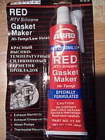 ABRO Герметик прокладочный высокотемпературный (красный) 11-AB CH 0.085л