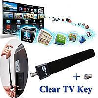 ТВ антенна Clear TVClear TV Key HDTV Бесплатная телевизионная цифровая  антенна 1080p Ditch Cable