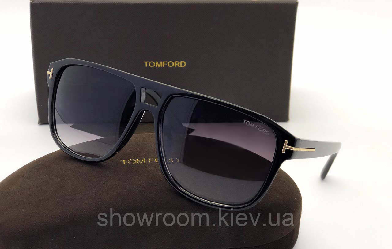 Солнцезащитные очки в стиле Tom Ford (2178) black