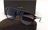Солнцезащитные очки в стиле Tom Ford (2178) black, фото 1
