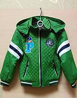 Детская весенняя курточка для мальчика на рост 104