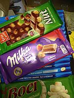 """Шоколад """"Milka""""с клубникой"""