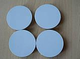 Колпачок серый  59,8/56,3/58,3мм 4шт вставка KK5 заглушка диаметры в на литой диск пластиковая 4 ножки №04, фото 2