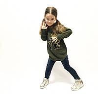 Стильный повседневный свитер для девочки Италия размеры 4-12