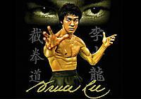 Плакат Брюс Ли 01