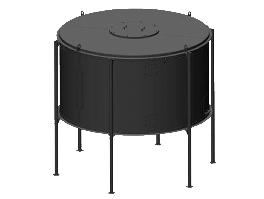 Бункер для пеллет (Liberator), объем 5 м³