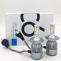 Авто LED лампы C6 Н7 ближний/дальний