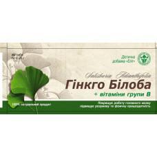 """Гинкго Билоба с витамином В"""" № 80 Элит-Фарм"""