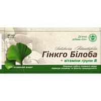 """Гинкго Билоба с витамином В"""" № Элит-Фарм"""