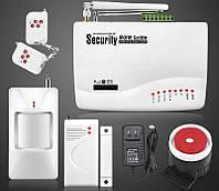 Сигнализация А - 10 для охраны: дом, гараж GSM Alarm System