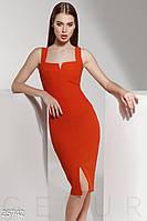 Яркое силуэтное платье Gepur 25742