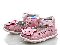 Детская летняя обувь. Детские пинетки-босоножки бренда Clibee для девочек (рр. с 17 по 20)