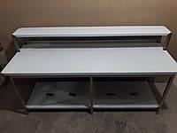 Стол производственный c полкой-надстройкой 2000х600х1050, фото 1