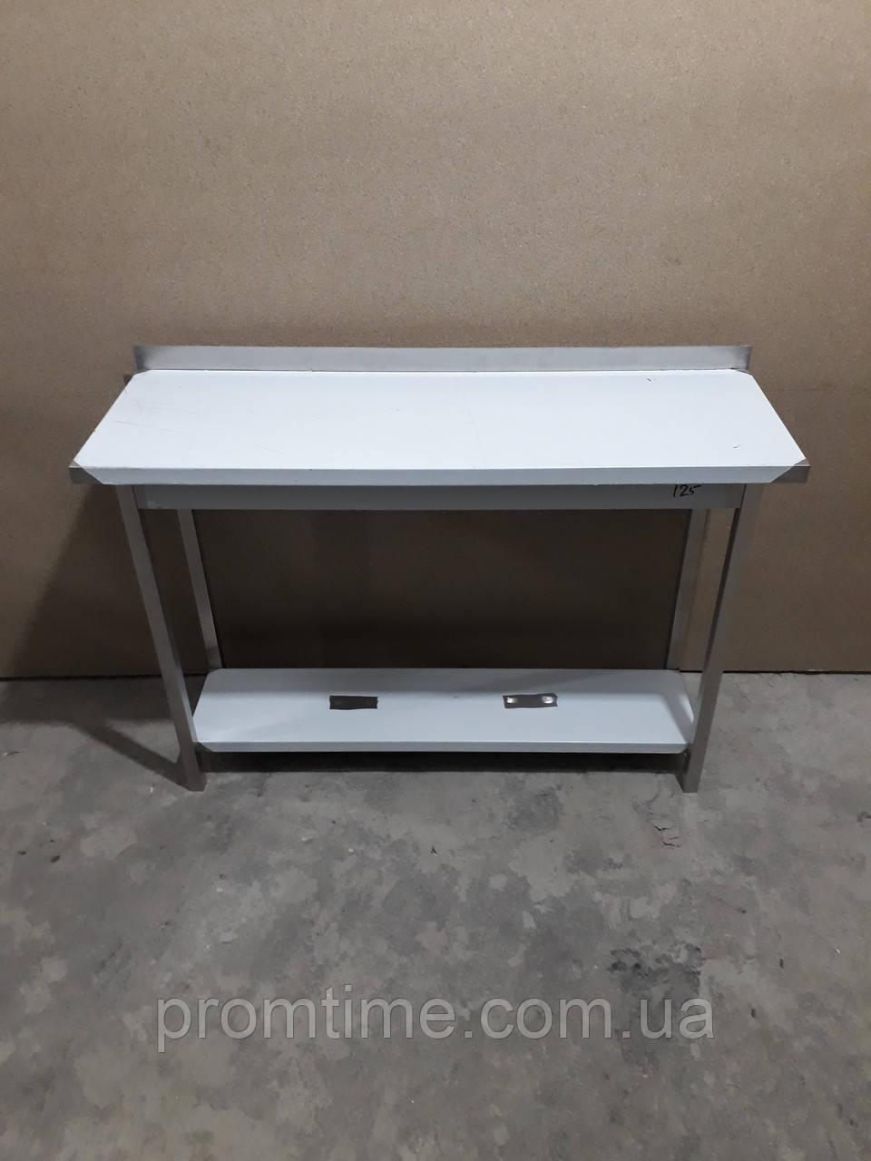 Стол производственный из нержавеющей стали 1200х400х850