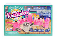 Ігровий набір посуду 165 Kristinka 3, фото 1