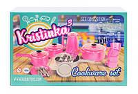 Игровой набор посуды 165 Kristinka 3