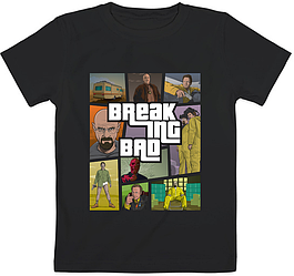 Детская футболка Breaking Bad - GTA Style