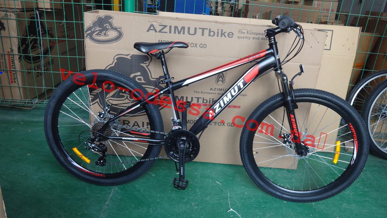 Подростковый велосипед 26 дюймов 14 рама Fox Azimut