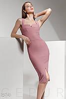 Силуэтное платье-миди Gepur 25743