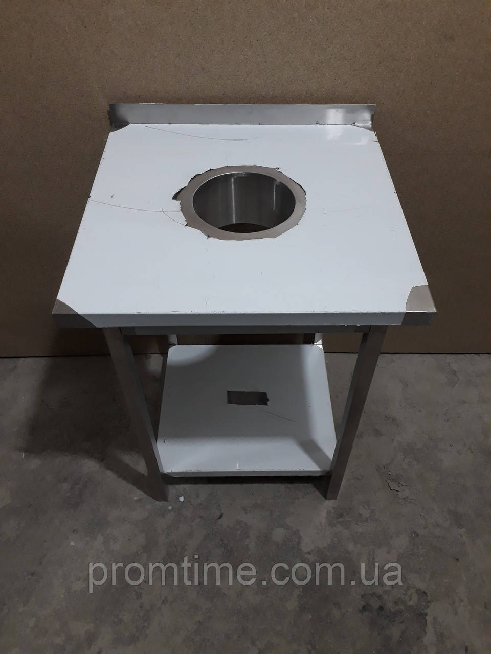 Стол для сбора отходов из нержавеющей стали 600х600х850