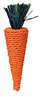 """Игрушка для грызунов """"Морковь"""" сизаль 20см, Trixie™"""