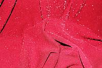 Бордо.Ткань креп дайвинг люрекс мягкий,тонкий весенний, марсала