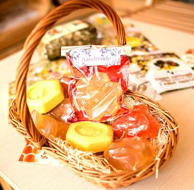 Мыло натуральное с медом ТМ Медова Крамничка