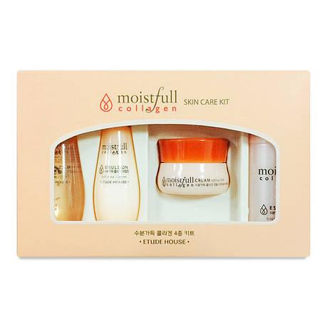 Набор миниатюр Etude House Moistfull Collagen Skin Care Kit, фото 2