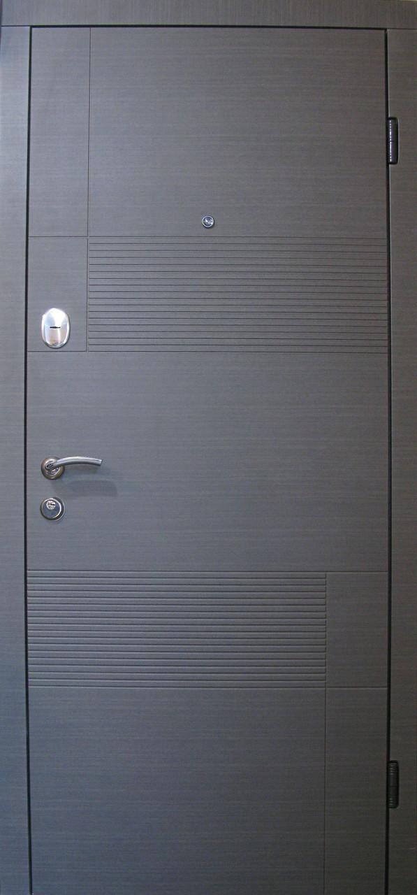 Стальные входные двери Редфорт Калифорния МДФ