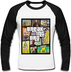 Футболка с длинным рукавом Breaking Bad - GTA Style