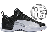 13d2046e Мужские кроссовки Air Jordan 12 XII Retro Low Playoffs Black/White/Varsity  Red 308317-004