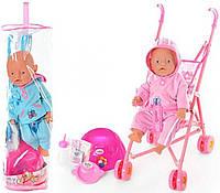 Пупс Baby Doll с коляской и горшком