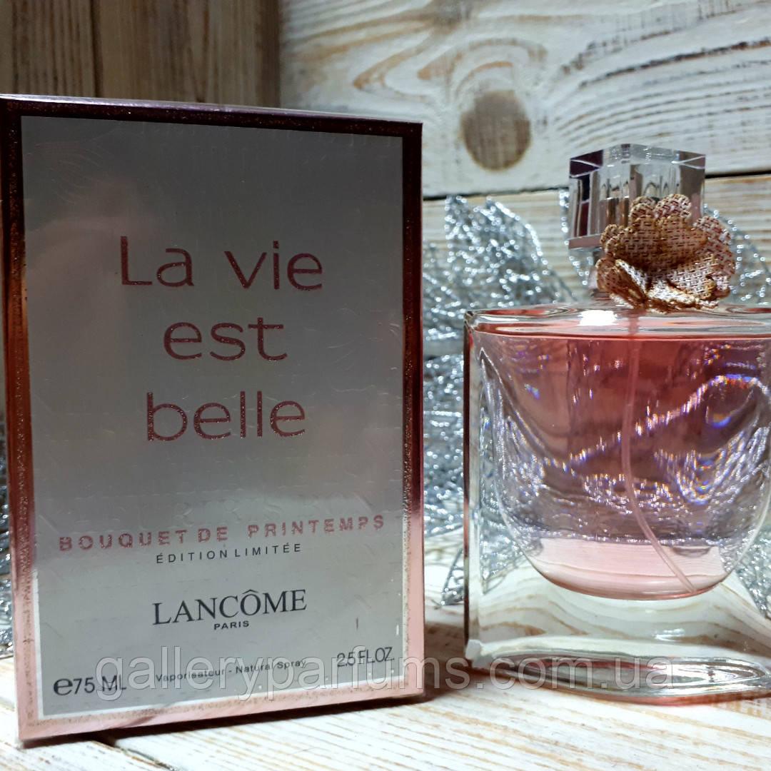 Lancome Est Belle Eau Parfum Spray 75ml De La Vie Vaporisateur Bouquet Printemps Natural odxCBre