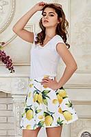 Юбка белые лимоны, фото 1