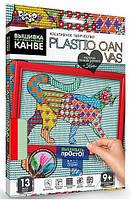 Вышивка на пластиковой канве Кот Данко Тойс PC-01-08