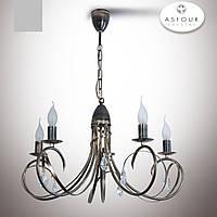 Люстра 5-ти ламповая в классическом стиле с хрусталем  18505-1