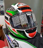 Надежный  мотошлем SUOMY   легкая и удобная защита головы размер L