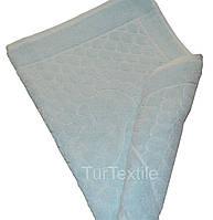 Рушник-килимок для ніг 720 гр/м2 Бавовна 100% Блакитний