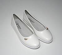 Нарядные белые  туфельки для девочки 30-37-й
