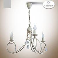 Люстра 3-х ламповая в классическом стиле с хрусталем  18503-1