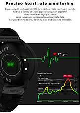 Розумні годинник SENBONO CF007H Black фітнес браслет, фото 3