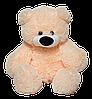 Персиковый плюшевый медведь 70 см