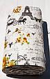 Постельное белье Lotus Ranforce Louvre кофейное двухспального евро размера, фото 4