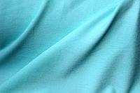 Ткань креп Летняя не стрейч, нежный ментол, легкое свечение , фото 1