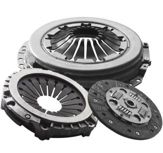 Сцепление ГАЗ 406 (диск нажим.+вед.+подш.) (универсальное) (RIDER)