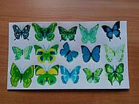 "Вафельная картинка ""Бабочки"""