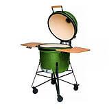 Керамический угольный гриль-печь Berghoff зеленый 2415701, фото 2
